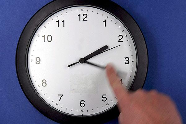 Cambio de horario del encargado