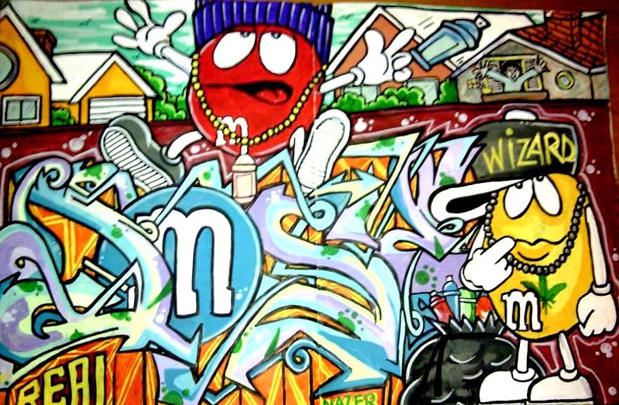Graffitear ahora es un delito