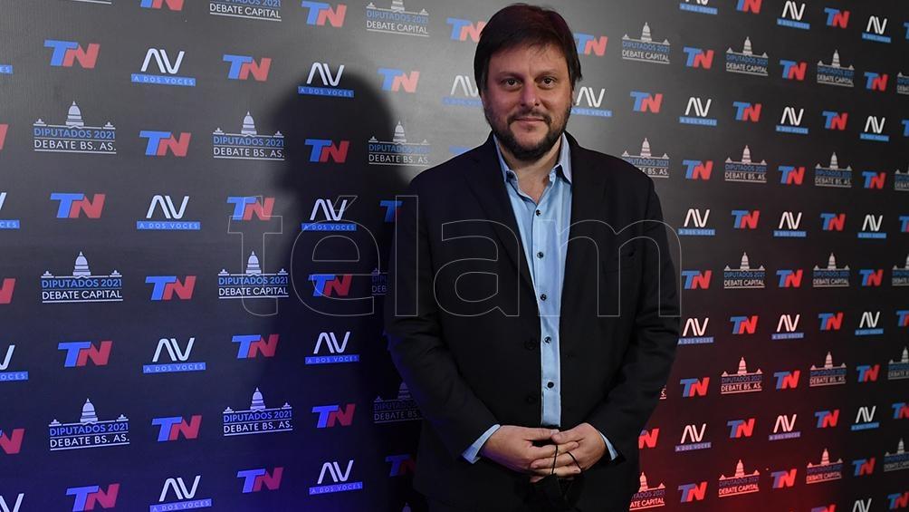 Leandro Santoro hizo foco en la excesiva toma de deuda del gobierno anterior (Foto: Maximiliano Luna).