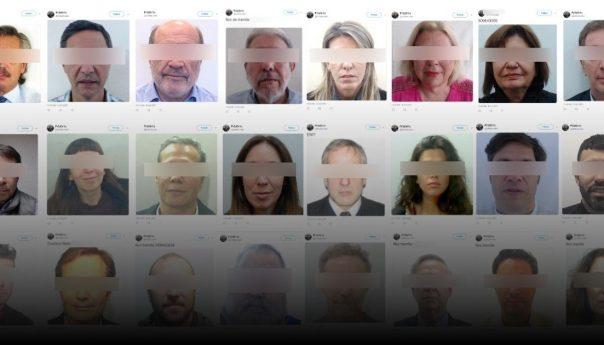 """""""Quizás publique los datos personales de 1 o 2 millones de personas"""", dijo el usuario que filtró fotos de los DNI de políticos, famosos y periodistas"""