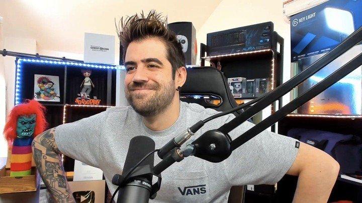 El streamer barcelonés AuronPlay es uno de los creadores de contenido que más dinero gana en Twitch. Foto: captura.